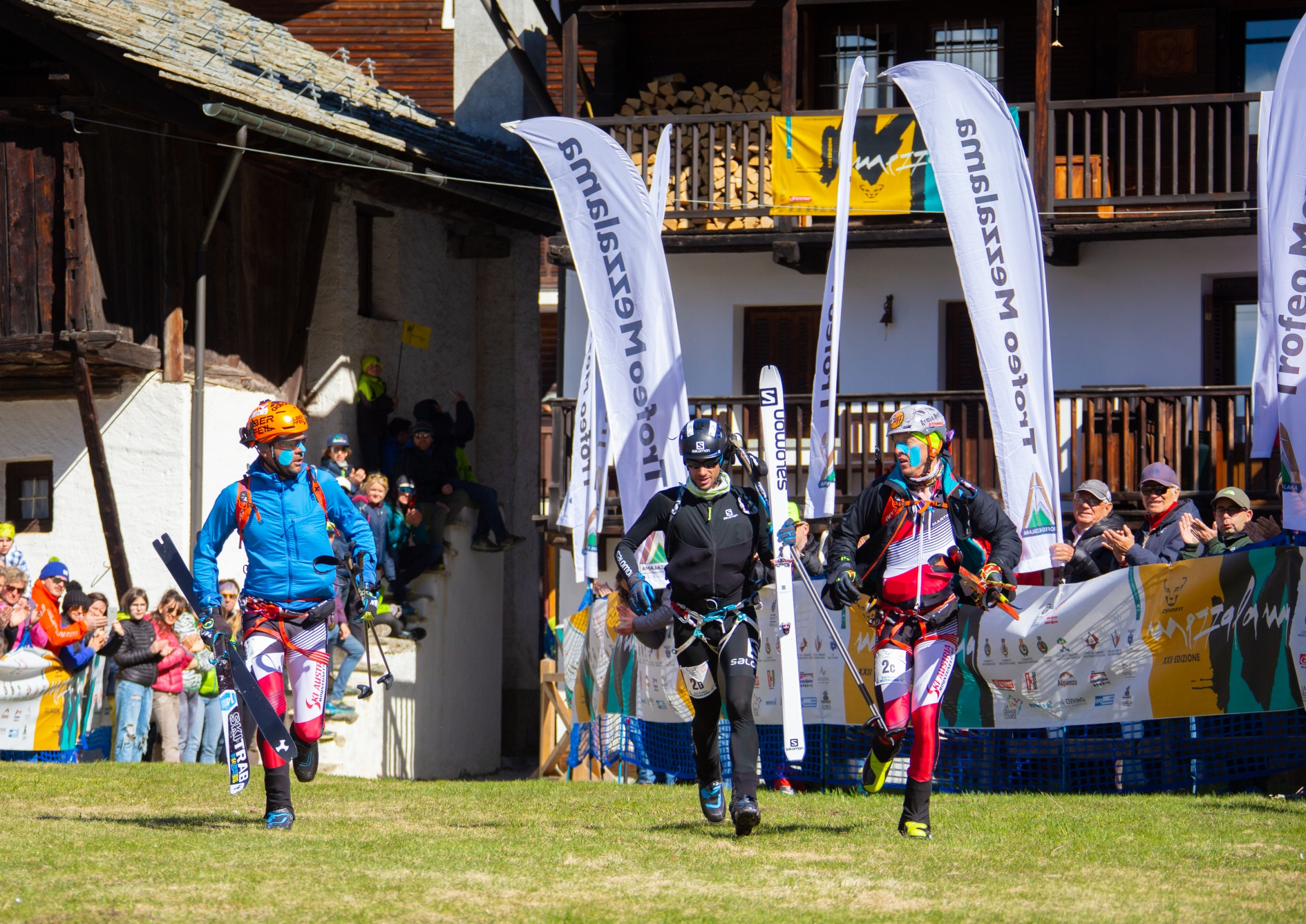 Podium finish for Kilian Jornet in the legendary Mezzalama Trophy alongside Armin Höfl and Jakob Herrmann