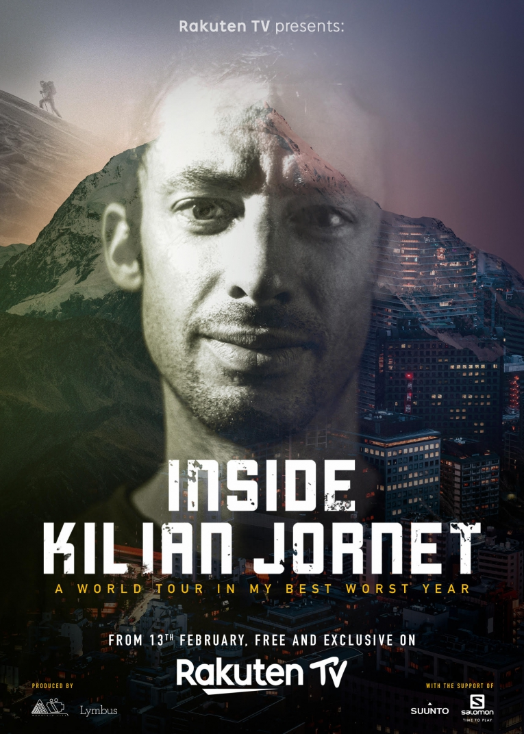 Kilian Jornet premieres Inside Kilian on Rakuten TV